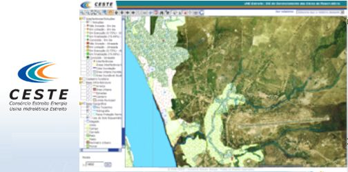 UHE Estreito - Hydropower Plant - GIS for construction management