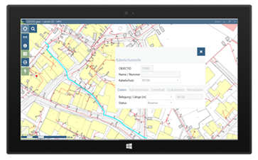GEONIS gear | a mobile GIS application
