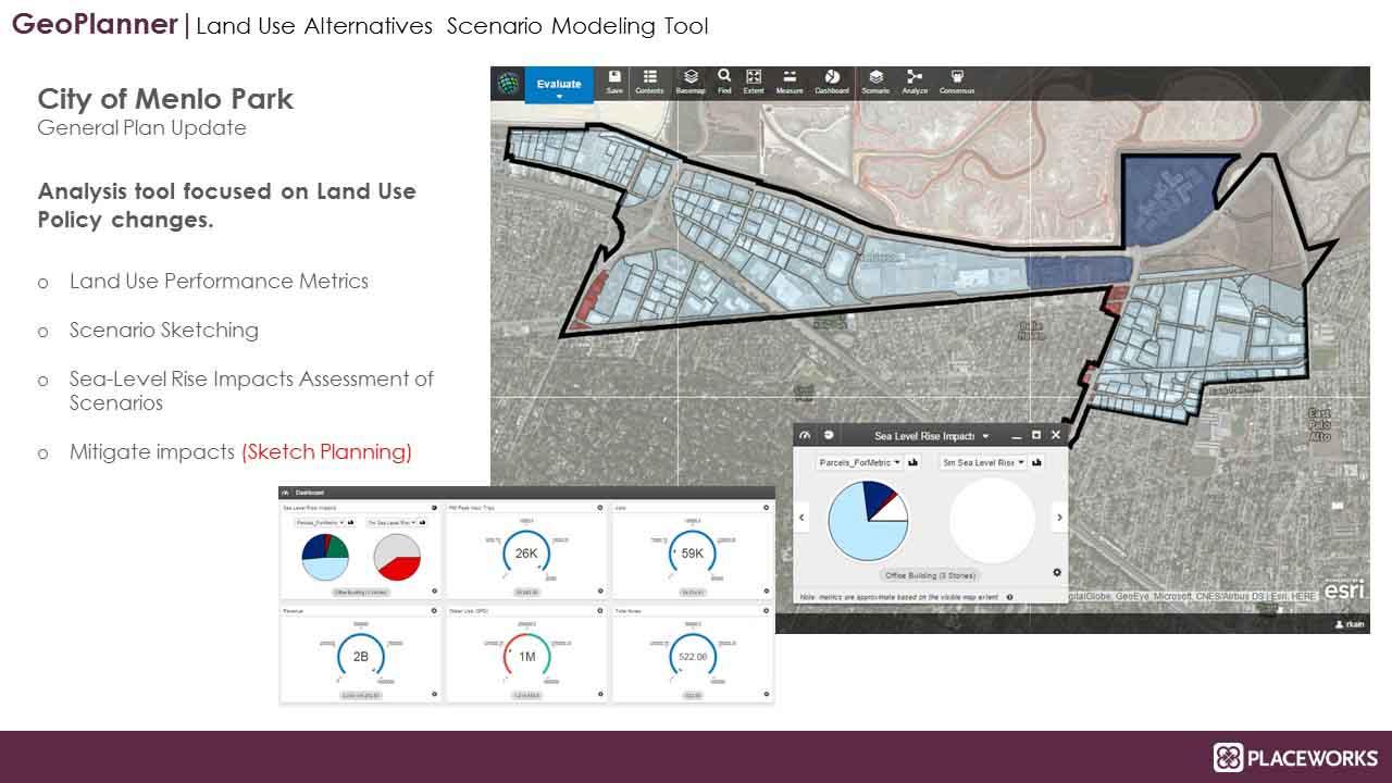 Menlo Park Land Use Scenario Analysis Tool