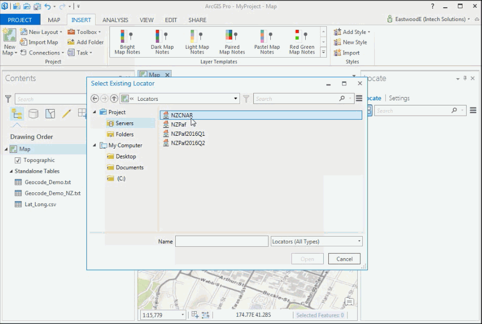 AU/NZ Geocoding Locator Service For ArcGIS Desktop