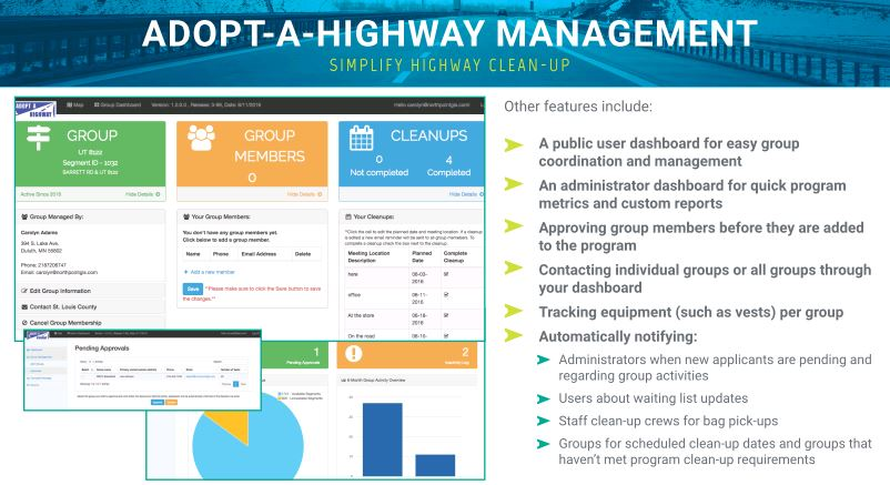 Adopt-A-Highway Web Application