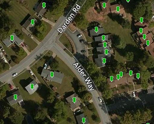 BuildingFootprintUSA Rooftop Geocoding