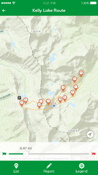 Easy2Hike mobile app