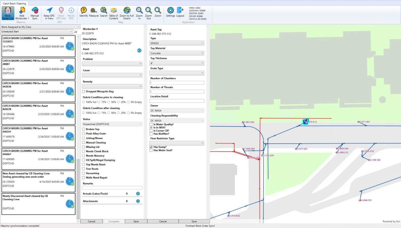 GIS based Catch Basin Field Mobility Application