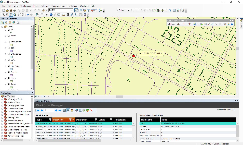 GeoComm Maintainer
