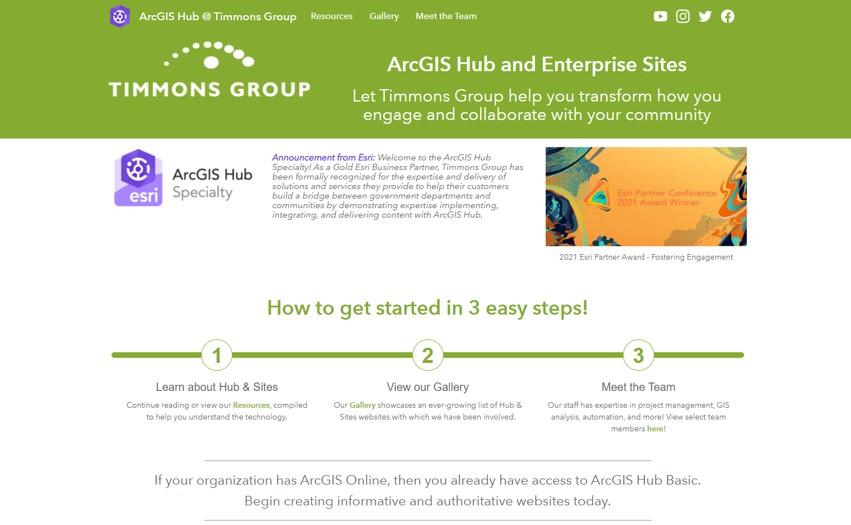 ArcGIS Hub and Enterprise Sites