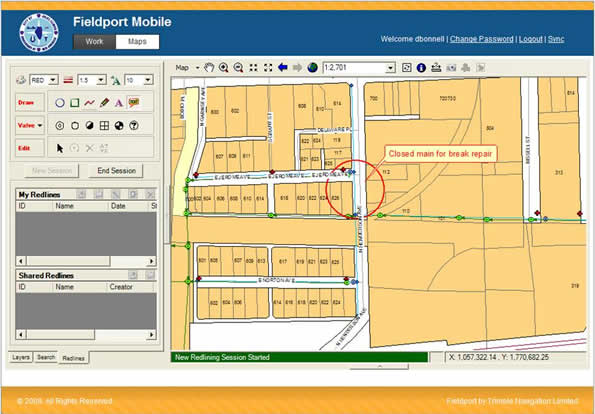 Trimble Fieldport® Mobile GIS and Work Management for Utilities