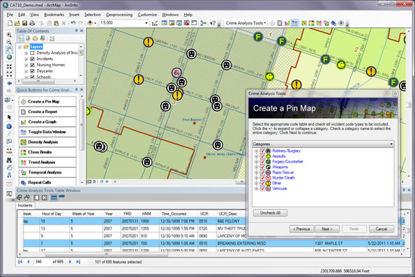 Crime Analysis Tools