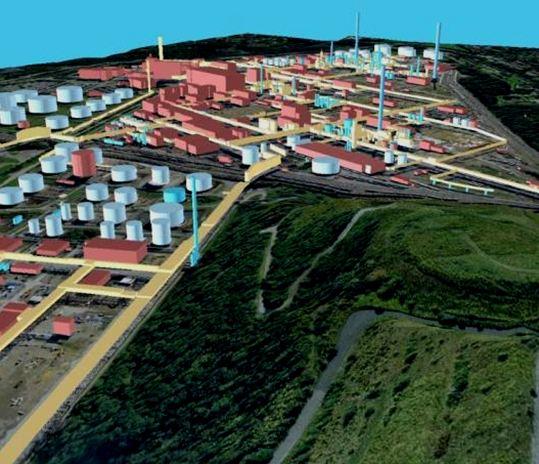 GEONIS Industrial Plant Management