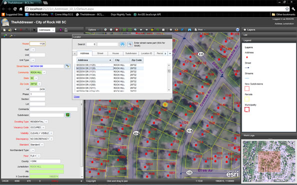 TheAddresser for ArcGIS Server