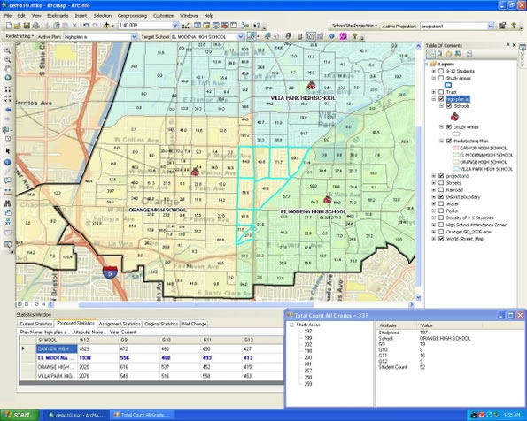 SchoolSite Desktop for ArcGIS