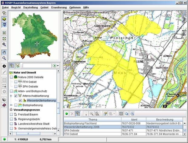 SIRISWeb (RISView, FIN-Web): GIS-Daten online veröffentlichen