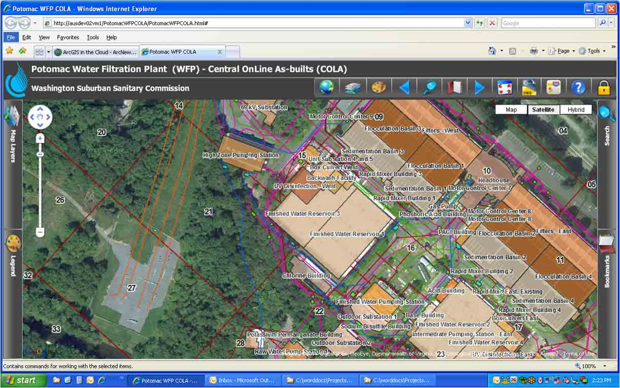 Spatial Document Retrieval System