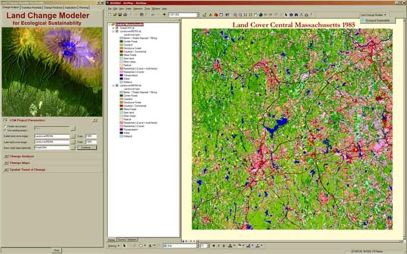 Land Change Modeler for ArcGIS