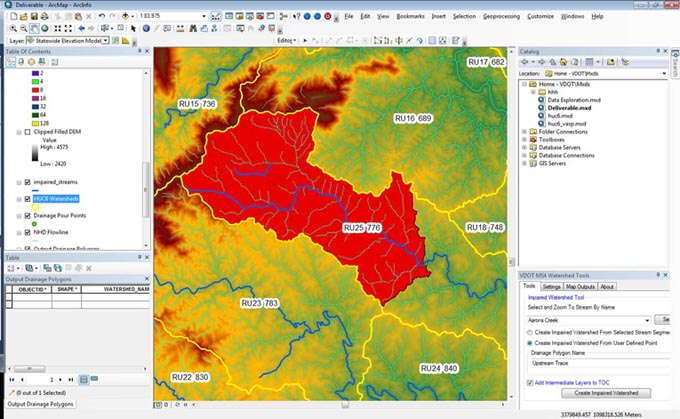 Delineating Impaired Watersheds