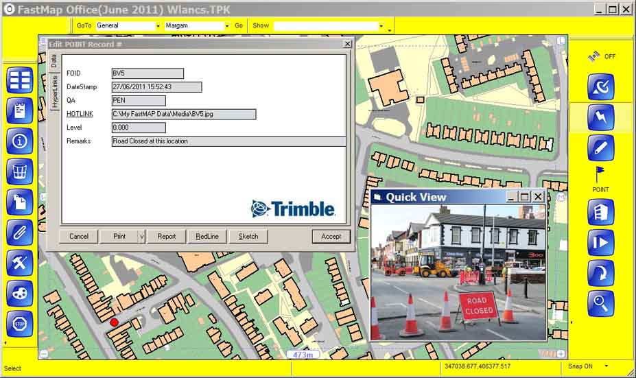 Trimble® FastMap™ Tablet Software