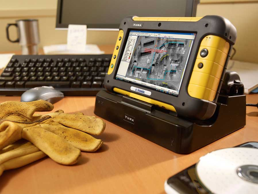Trimble® Yuma® Outdoor Rugged Tablet Computer