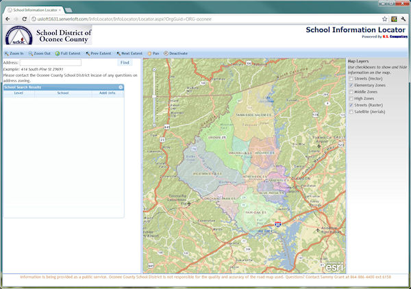 Compass Information Locator