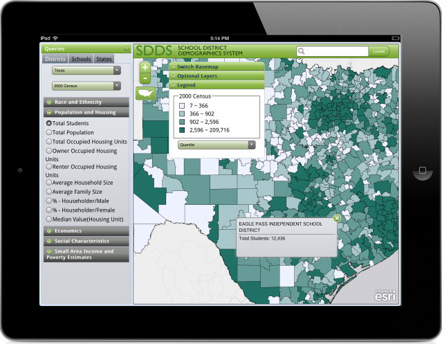 School District Demographics System (SDDS) Mobile