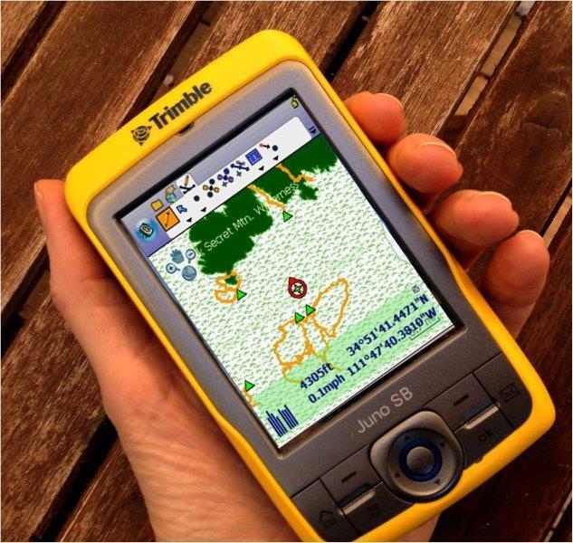 GPS data collectors