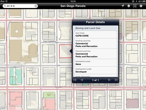 San Diego Parcel & Property Information App