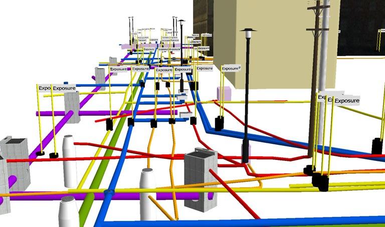 Subsurface Utility Data Modeling