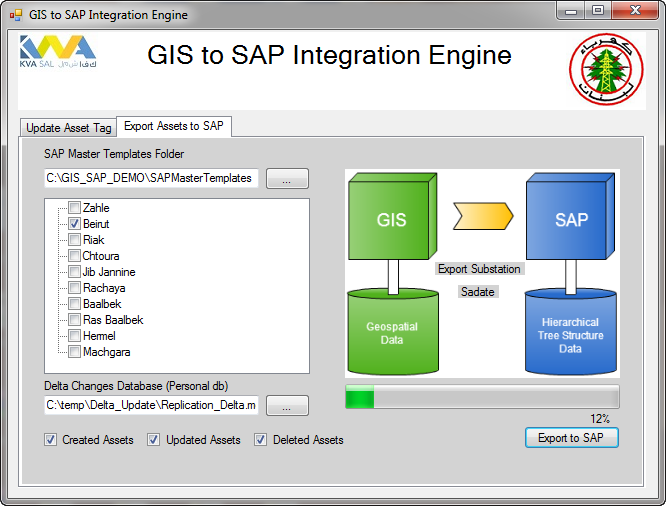 ArcGIS & SAP integration brings spatial dimension to ERP & CRM for Utilities
