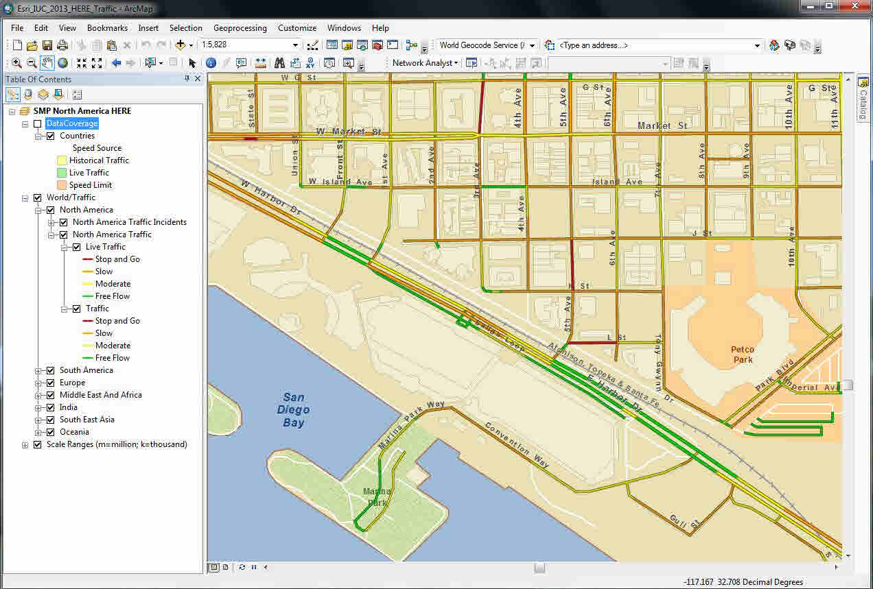 HERE Map Content to Power Esri Software