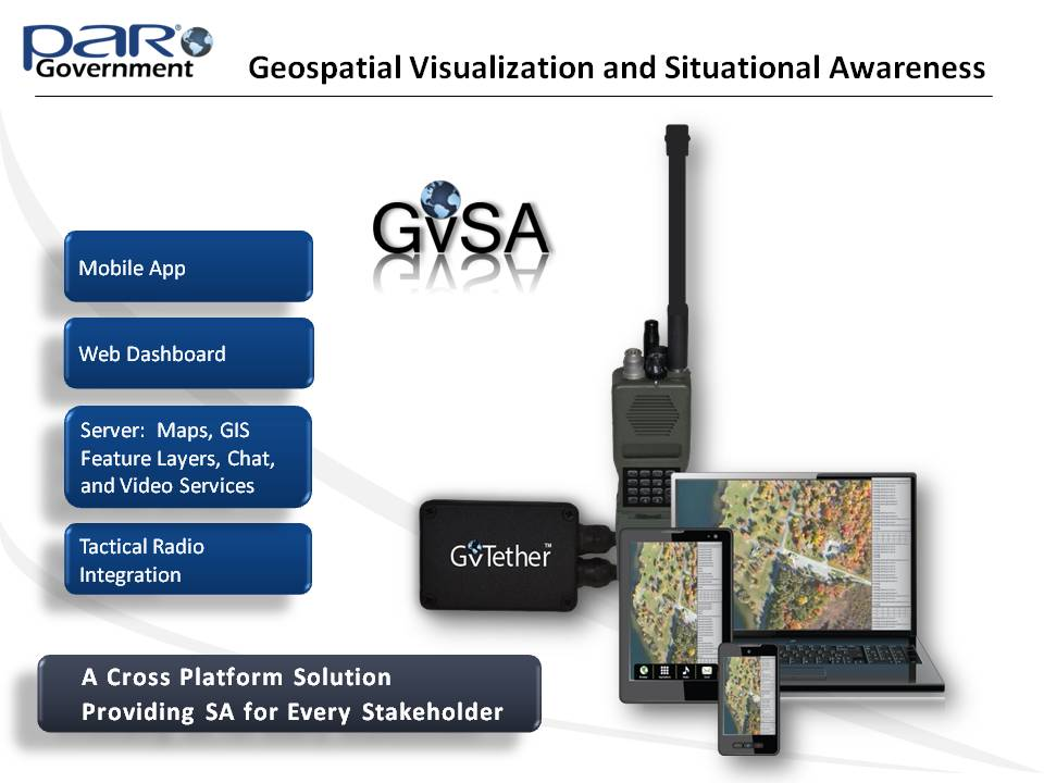 Geospatial Visualization and Situational Awareness (GvSA)