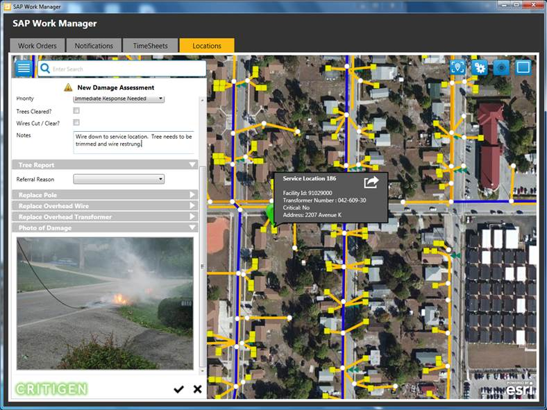 SAP Work Manager Geospatial Solution