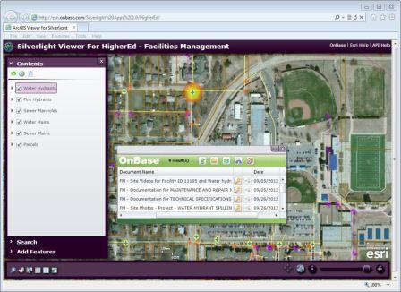 OnBase Integration for Esri ArcGIS Online