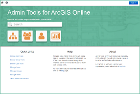 Admin Tools for ArcGIS