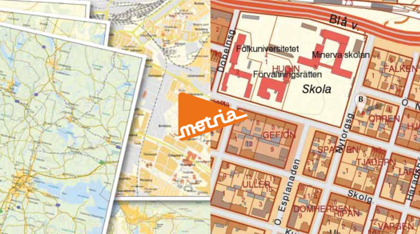 Metria Maps Backgroud Map