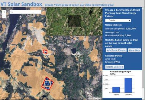 Vermont Solar Sandbox