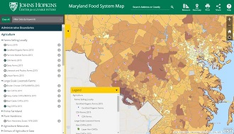 Maryland Food System Map