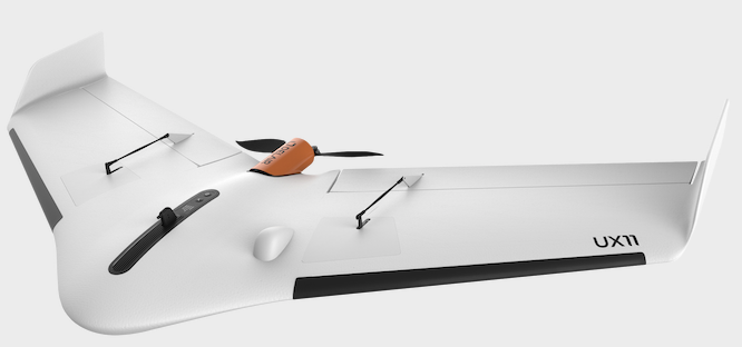 UX11 fixed-wing drone